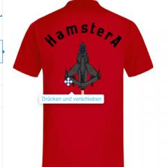 T Shirt 2 Hinten Rot