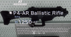 P4-AR Ballistic Pistol