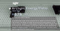 Arclight Energy Pistol
