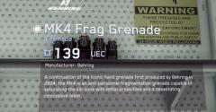 Mk4 Frag Grenade